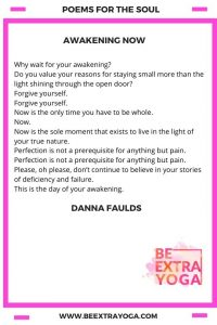Awakening Now - Danna Faulds