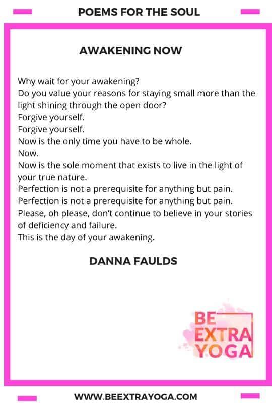 Awakening Now - Danna Faulds