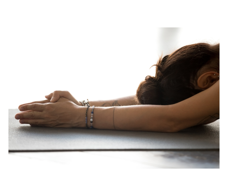 Yoga helps Anxiety in Woman
