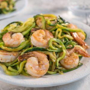 Read more about the article Dairy-Free Shrimp Scampi with Zucchini Noodles