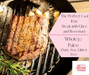 Read more about the article The Perfect Cast Iron Steak with Ghee and Rosemary