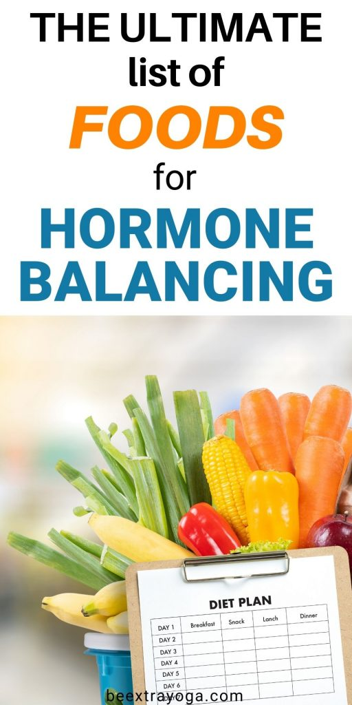 The ultimate list of foods for hormone balancing.