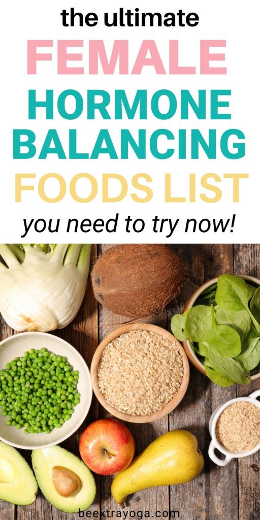 The ultimate female hormone balancing foods list you need to try now.
